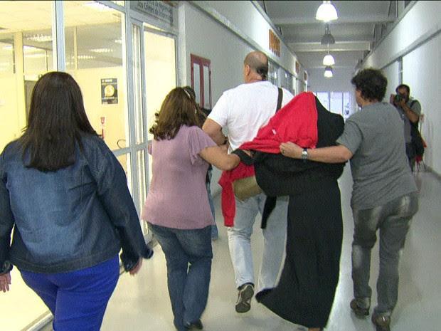 Vítima de estupro coletivo (Gnews) (Foto: Reprodução GloboNews)