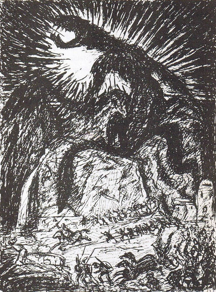 Alfred Kubin - Ink Drawing 1