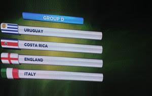 grupo d tabela sorteio Copa do Mundo (Foto: AFP)