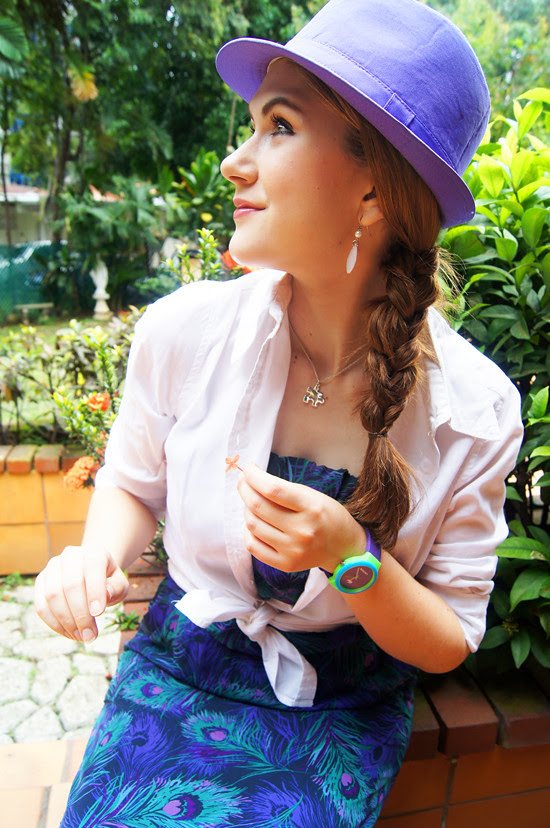 Lilac Hat by The Joy of Fashion (3)