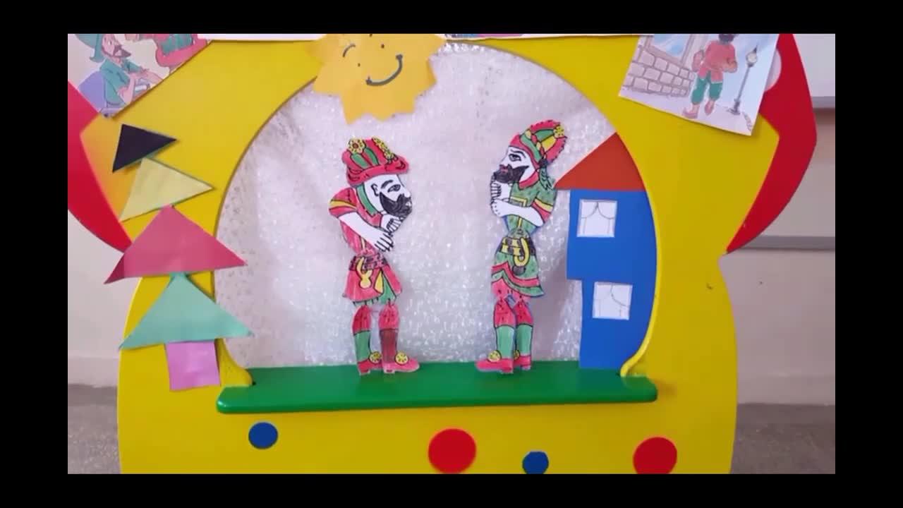 Karagöz Ile Hacivat Perdemizde Canlandı Izle Video Eğitim