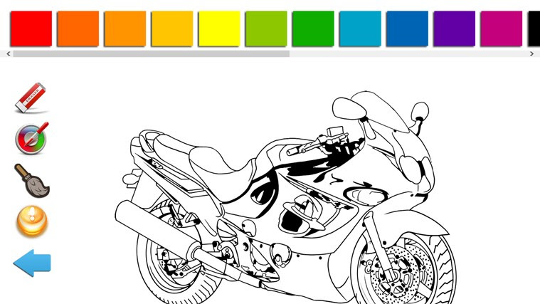 Vehicles Coloring Pages for Kids app for Windows in the ...
