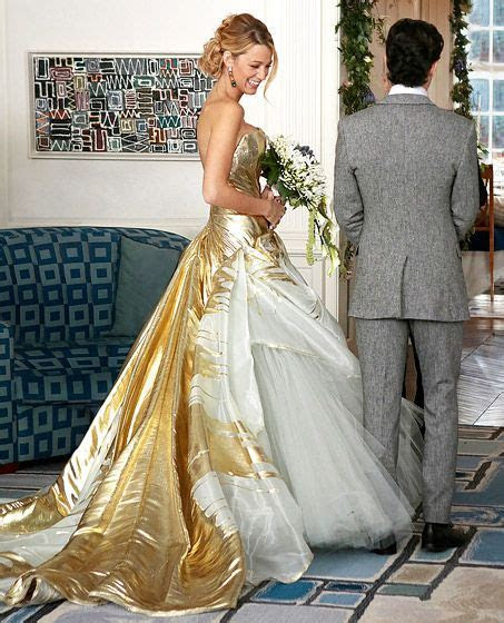 Celebrity Wedding Dresses: TV & Movies   Dan humphrey