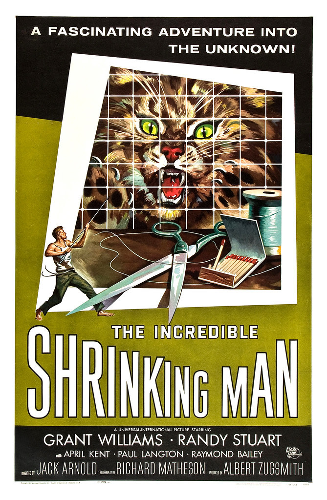 Reynold Brown - The Incredible Shrinking Man (Universal International, 1957)