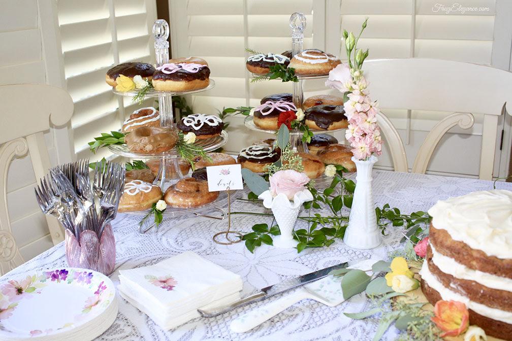 Secret Garden Party Dessert Table - FrugElegance