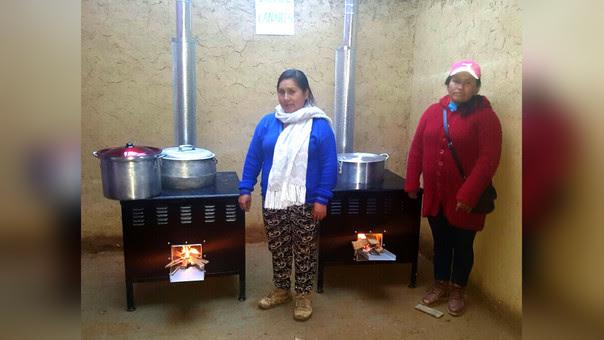 Las cocinas mejoradas beneficiarán a 3,280 alumnos del nivel primario