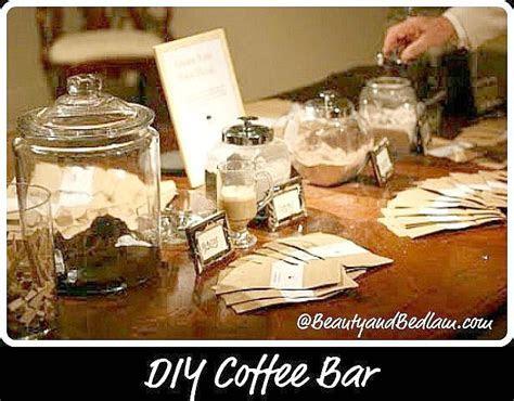 Creative Party Ideas: DIY Coffee Bar   Jen Schmidt