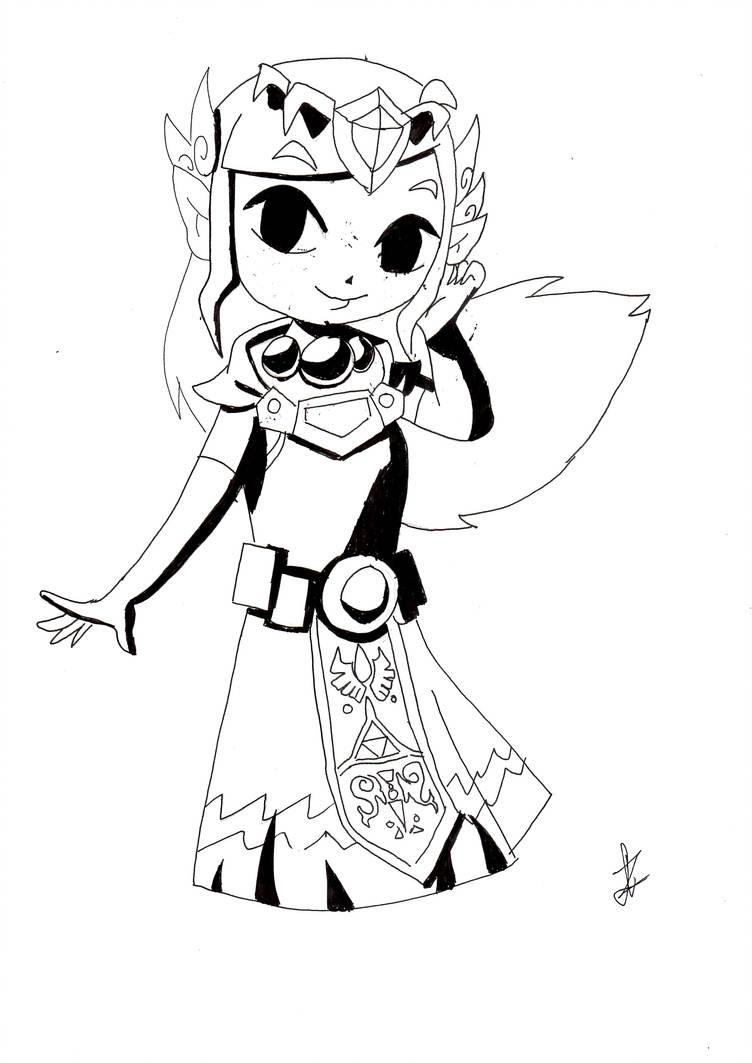 Drawing Skill: Legend Of Zelda Drawings
