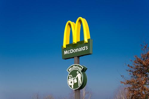 Enseigne McDonald's