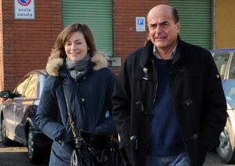 Bersani va a votare con la figlia a Piacenza