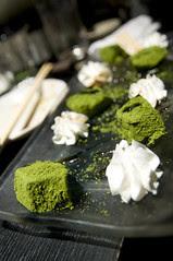 二色わらび餅の黒蜜がけ, 個室風情 かざがぐるま, 渋谷