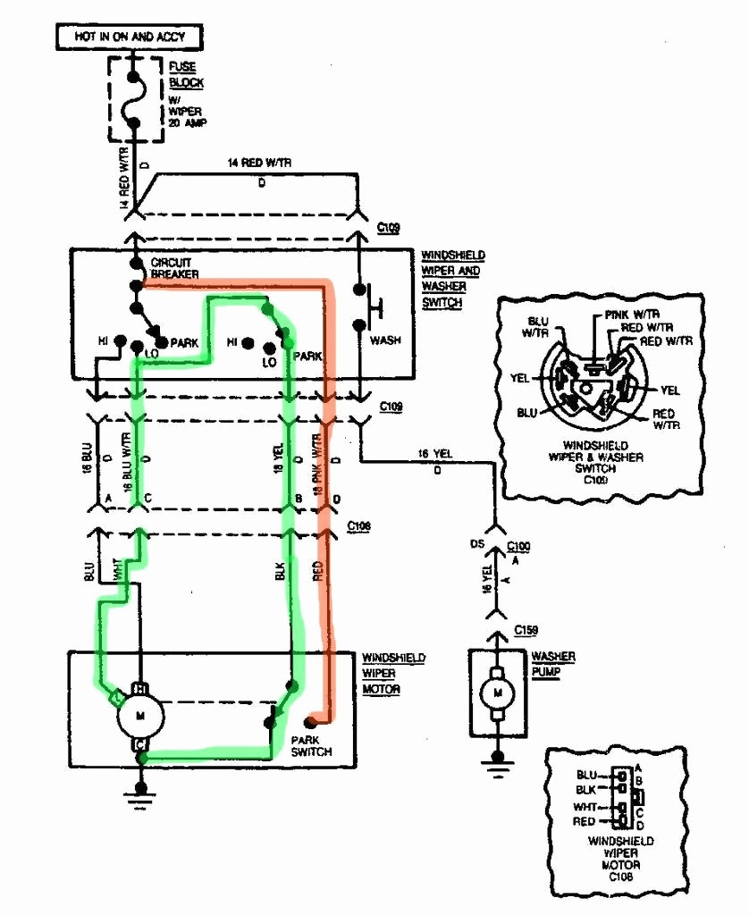 Wwf Wiper Motor Wiring Diagram