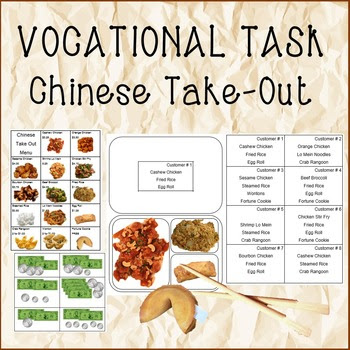 Chinese Take-Out/ Vocational Customer Service Task