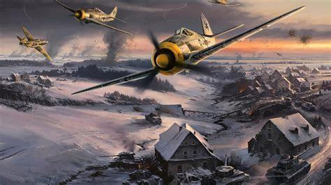 Ii luftwaffe focke wulf 190 fw 190 smoke trail wallpaper