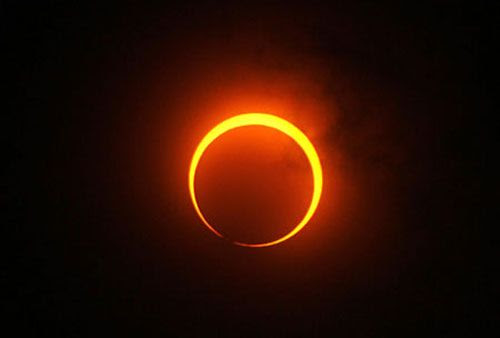 An annular solar eclipse will take place over the Pacific Ocean this May.