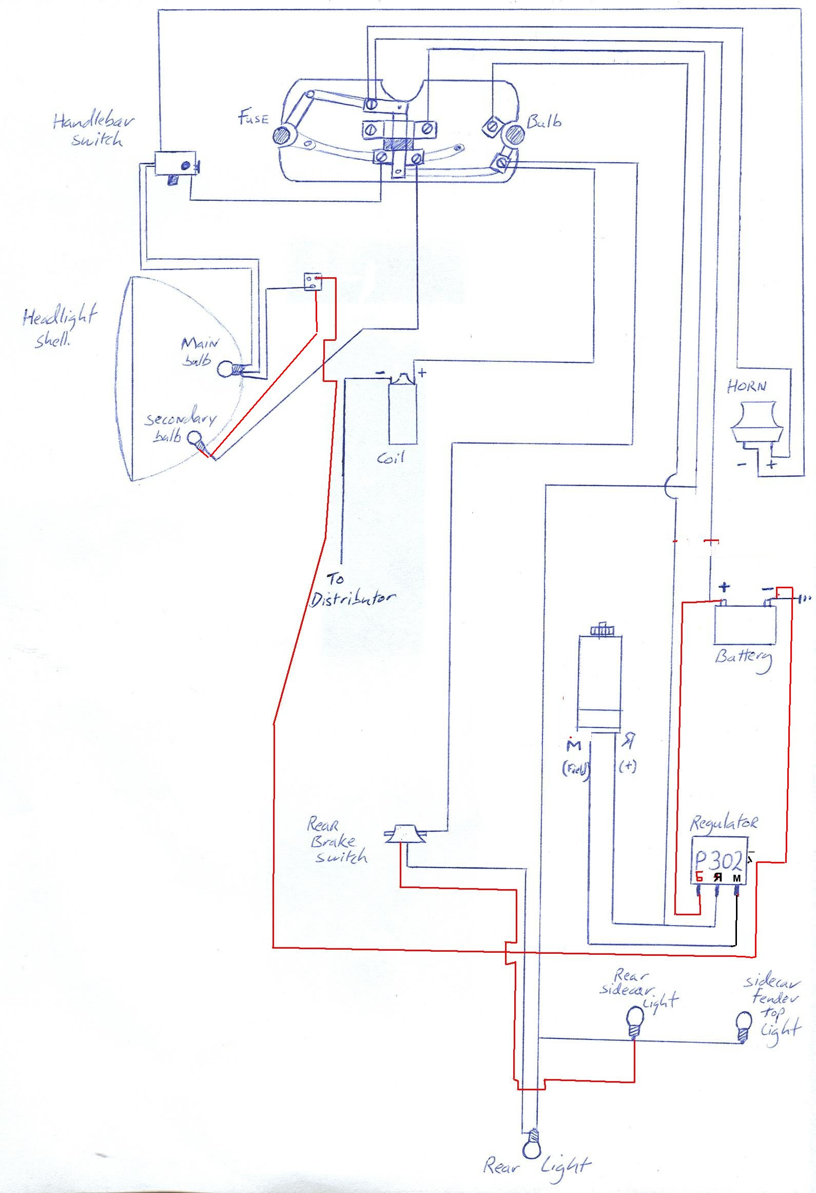 Motorcycle Electrical Wiring Diagram
