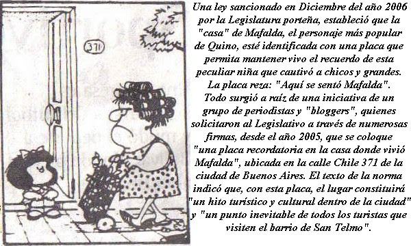La Biografía De Mafalda
