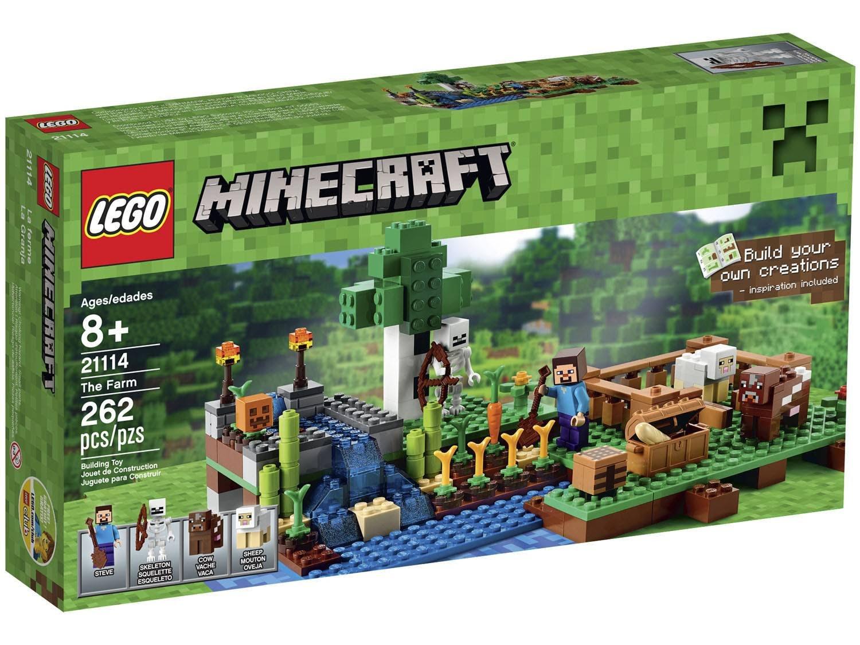 LEGO Minecraft Creative Adventure A Fazenda - 262 Peças