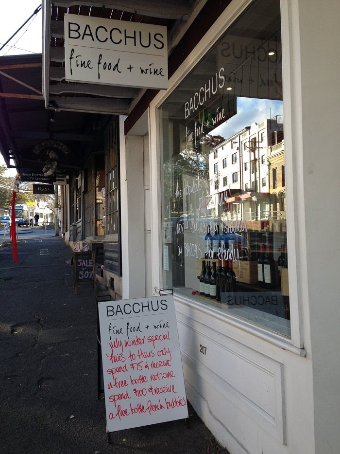 Foodie Walking Tour Podcast Rozelle Balmain Bacchus