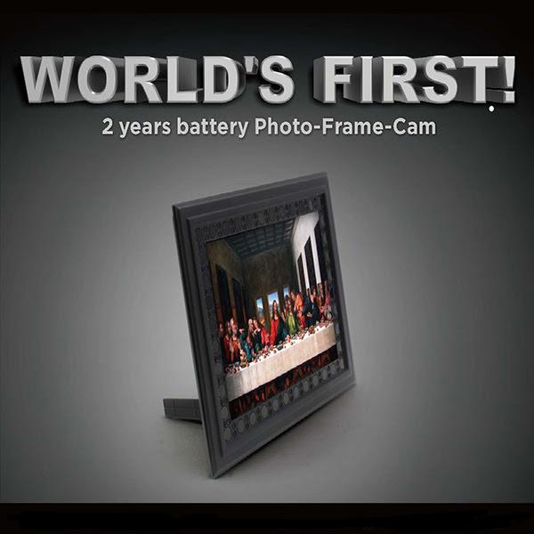 Photo Frame Spy Camera 2 Year Battery Hidden Camera Surveillance