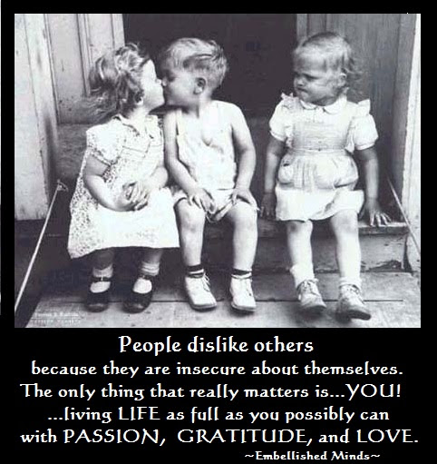 Love Quotes People Dislike Others