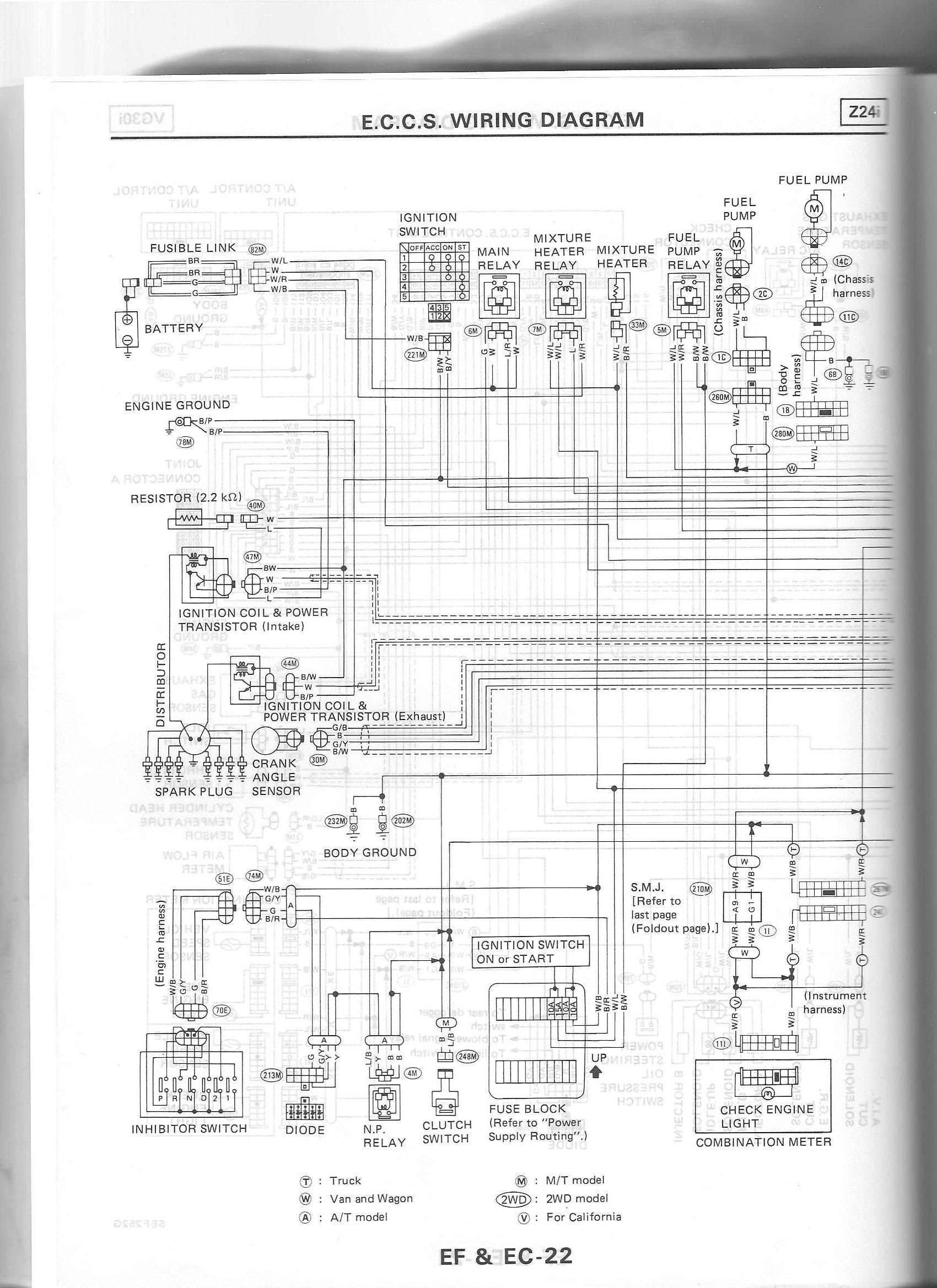 1986 Nissan D21 Stereo Wire Diagram Manual Guide