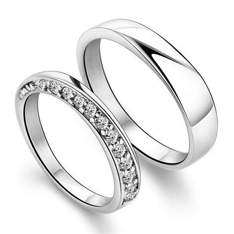 Silver Wedding Rings For Men And Women   Ringsinabox.com
