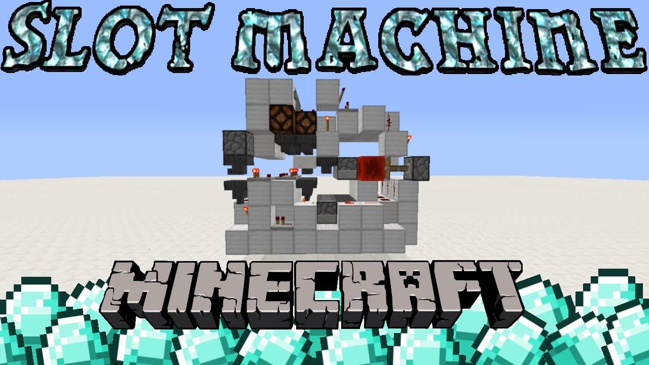 Slot machine in minecraft