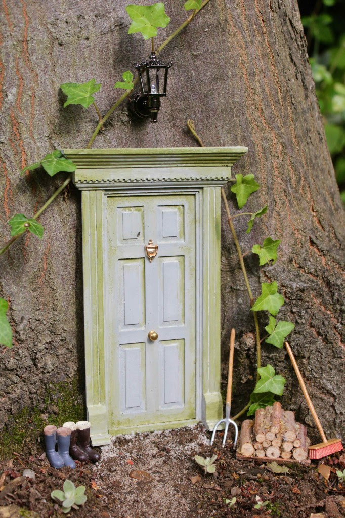 Fairy Doors in the Forest