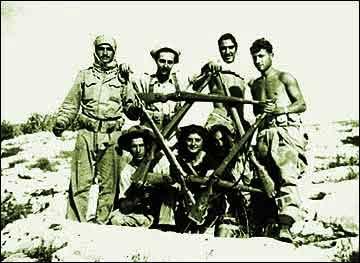 στρατιώτες της Παλμάχ