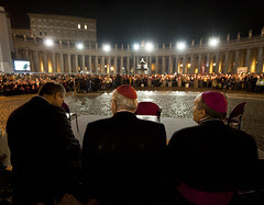 Torchlit procession to mark the 50th anniversa...