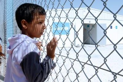 Síria: Um milhão de crianças refugiadas