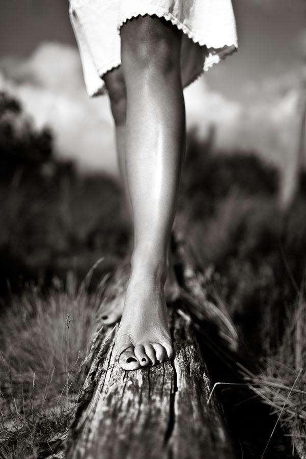 Bare Legs, Bare Feet!  by Benoit COURTI