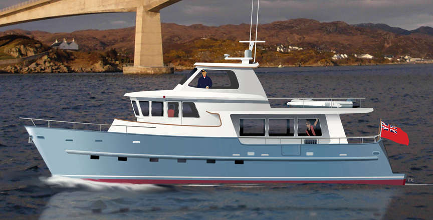 TRAWLER YACHT 620 trawlers passagemakers live-aboard