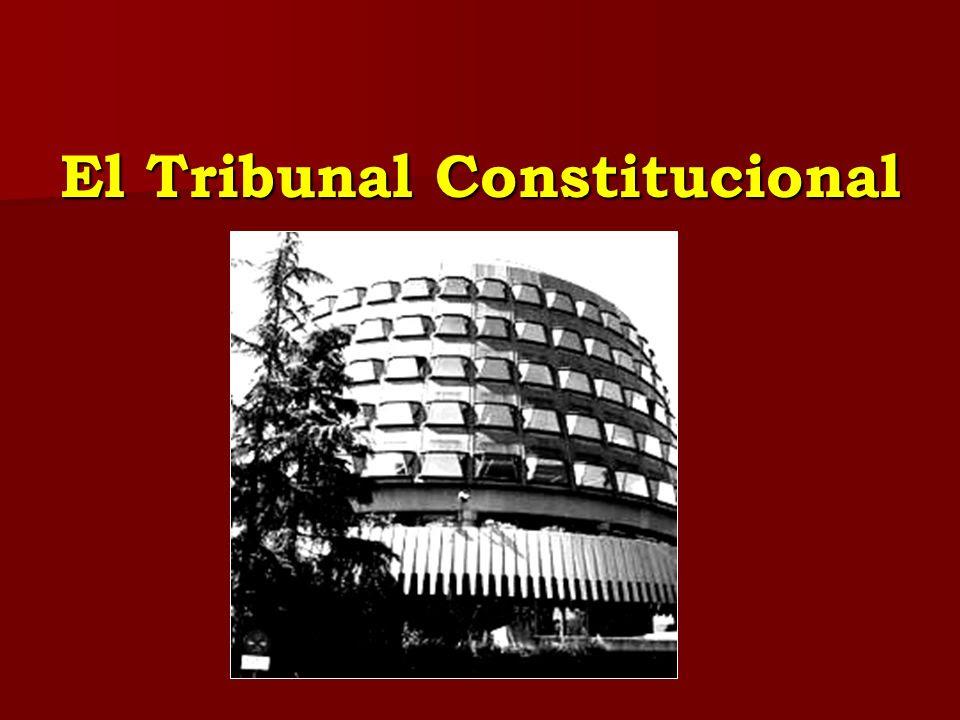 Resultado de imagen de el tribunal constitucional