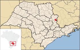 Localização de São João da Boa Vista