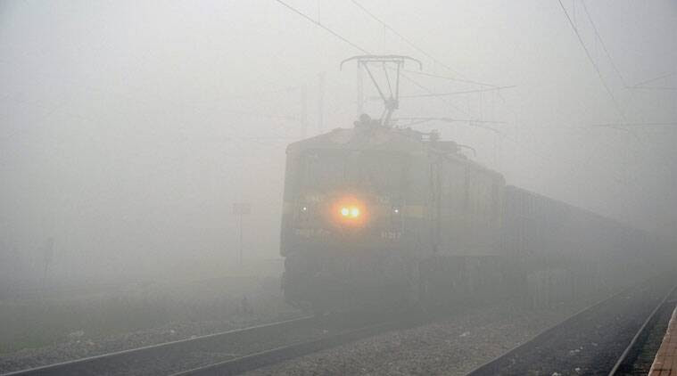 Image result for train fog