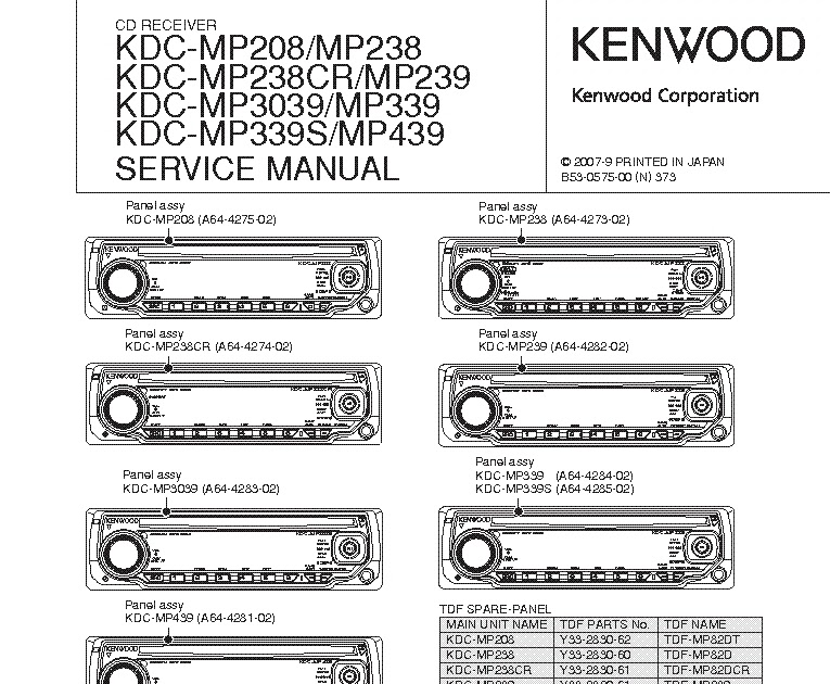 Wiring Diagram  12 Kenwood Kdc 210u Wiring Diagram