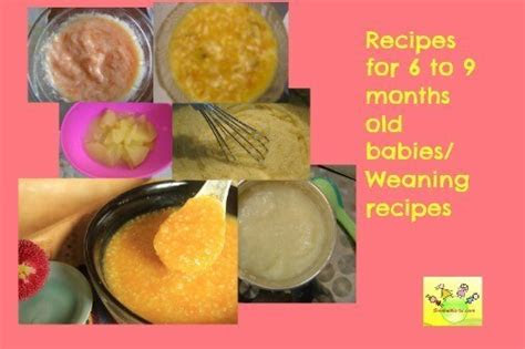 baby food recipes    months  wholesome weaning