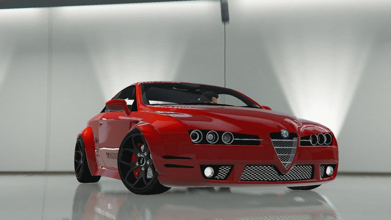 GTA 5 Alfa Romeo Brera Custom Mod  GTAinside.com