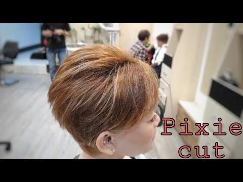 Populer Pixie Cut Haircut Girl Potong Rambut Wanita Pendek Terbaru