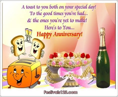 Happy Anniversary Greetings     Cards, Funny Cards, Cute