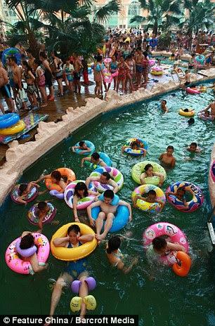 Chinese swimming pool