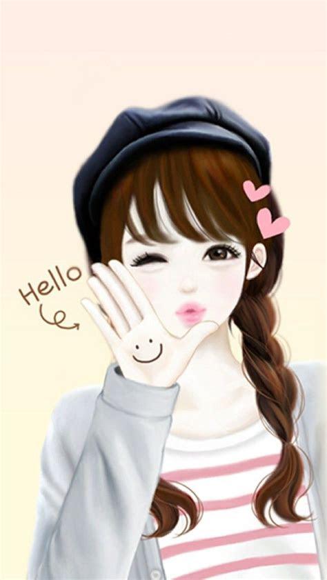 korean anime girl images  pinterest korean