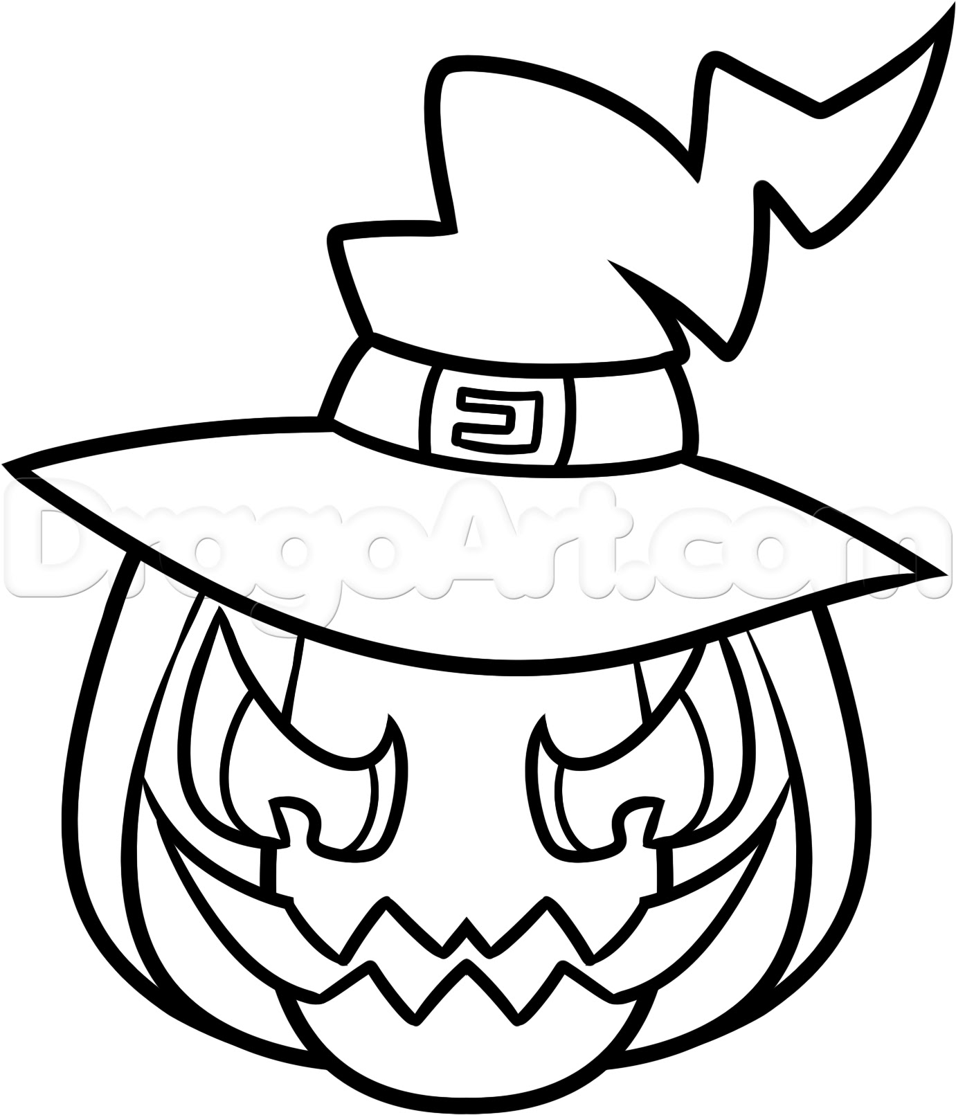 22+ New For Drawing Ideas Halloween Cute Easy Drawings For Kids