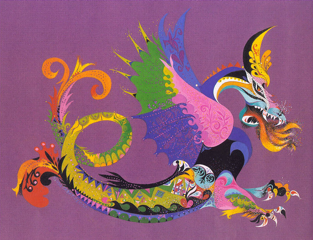 Erni Cabat (Magical World Of Monsters 1992) Dragon