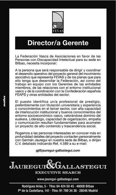 SELECCIÓN DIRECTOR-A FEVAS