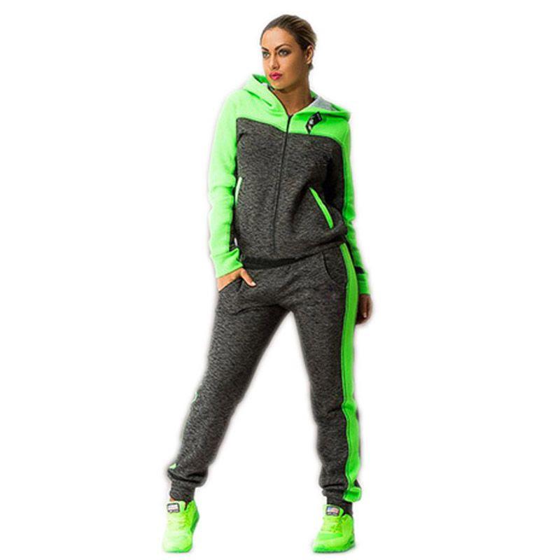 2017 jogging suits for women harajuku autumn suit femme