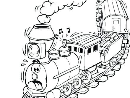 toy train coloring page at getcolorings  free