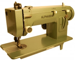 Alphasew PW400ZZ Portable ZigZag Walking Foot Machine